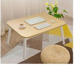 Małe biurko na łóżku składane i podniesione małe biurko pokładzie dormitorium studentów biurko leniwy biurko biurko na laptopa