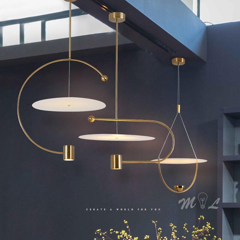 Japan Luminaria Lustre Pendente Crystal  Living Room  Bedroom  Restaurant   Hanging Ceiling Lamps
