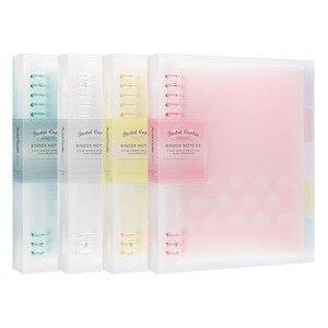 1PC KOKUYO Soft Light Series Notebook Loose Leaf binder A5 B5 Daily Planner Binder Journal Office School Supplies kawaii