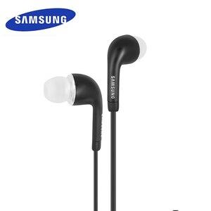 Image 5 - Samsung EHS64 auriculares intrauditivos con cable, 3,5mm, Color blanco y negro, con micrófono, para Galaxy S8/S8Plus S9/S9Plus