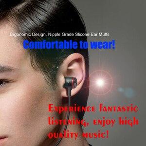 Image 4 - หูฟังแบบมีสาย3.5มม.หูฟังโลหะHIFIชุดหูฟังสเตอริโอกีฬาหูฟังพร้อมไมโครโฟนสำหรับXiaomi Samsung Huawei iphone 12