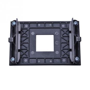 Placa trasera resistente montura del radiador soporte CPU ventilador soporte profesional para AM4