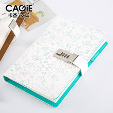A5 Diary Planner Organizer Wonderful Notebook and Bullet Journal with Lock Line Blank Note Book Back to School Travel Handbook