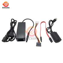 Converter-Cable Power-Adapter Hard-Drive-Disk PATA External To for HDD with AC US/EU