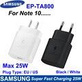 Original Samsung Hinweis 20 Ultra 25W Ladegerät Surper Schnelle Ladung USB Typ C Pd PPS Schnelle Lade Für Galaxy hinweis 20 10 S21 S20 5G