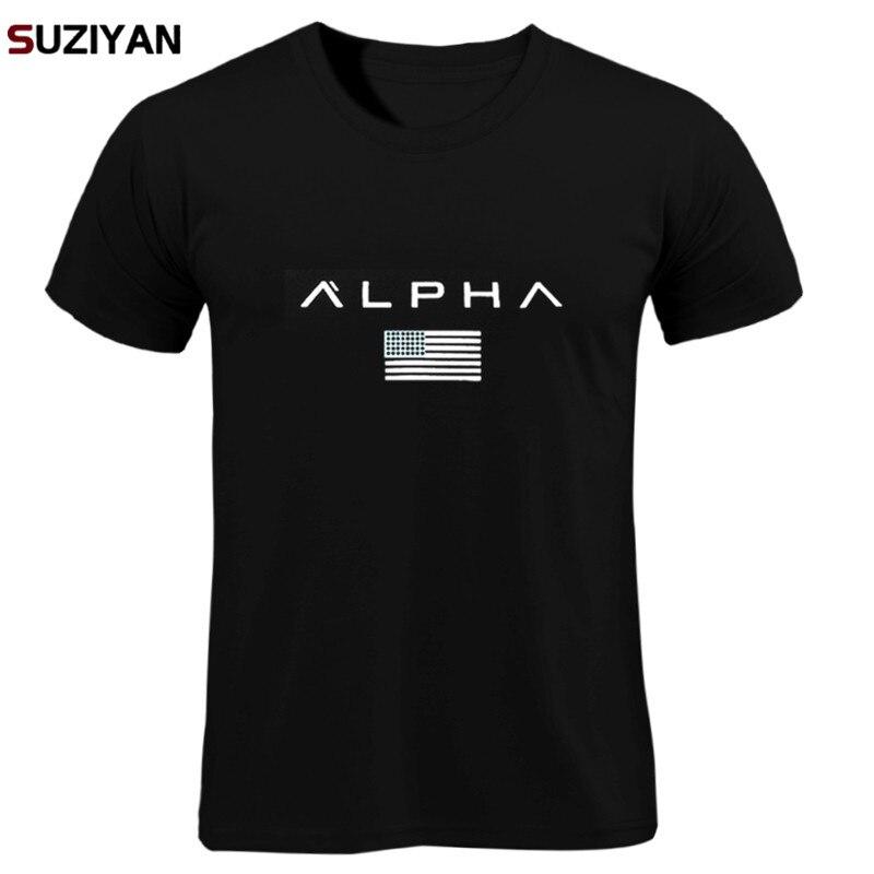 T  -  shirts   Print Men/Women Summer Tops Tees Men Loose O-neck Short Sleeve Fashion Casual Tshirts Plus Size ALPHA   Shirt   Men