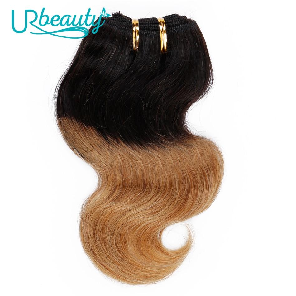 30g/pc Body Wave Bundles Human Hair Bundles T1B/27 Color UR Beauty Remy Hair Can Buy 6 9 Bundles Very Soft