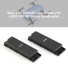 цена на 2pcs Original 3.7V 500mAh Lipo Battery for JJRC H47 Drone RC Quadcopter Part the Wifi Drone Battery Accessories