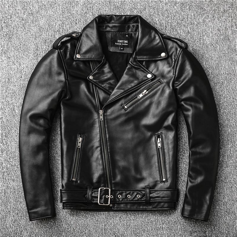 Hc97f5be183bd4c91a61f1ddede8ded08h Free shipping,Sales!Brand new genuine leather jacket.mens motor biker sheepskin coat.slim plus size jackets.leather outwear