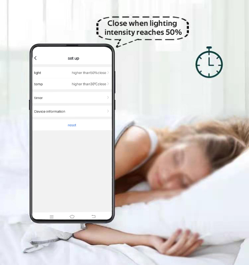 HIMOJO Tuya Smart Curtains  Wireless Automatic Curtain Opener Rechargeable Switch bot Curtains Remote Control Alexa Google Home 3