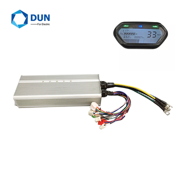 Yuyang King BLDC Motor Controller YKZ72100 72V 2KW 3KW 100A with Bluetooth and Phase LCD speed meter