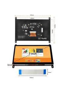 OSOYOO 7 Inch DSI Touch Screen LCD Display 800x480 for Raspberry Pi 4 3 3B+ 2