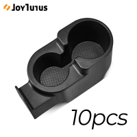 10pcs Upgraded Car Drinks Holder Cup Mount Dual Cup Holder for Smart Fortwo 451 2007 2015 Car Bottle Auto Organizer