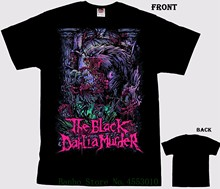 The Black Dahlia Murder - Wolfman - Death Metal Band T Shirt - Sizes S To 7xl Summer New Men Cotton T-shirt(China)