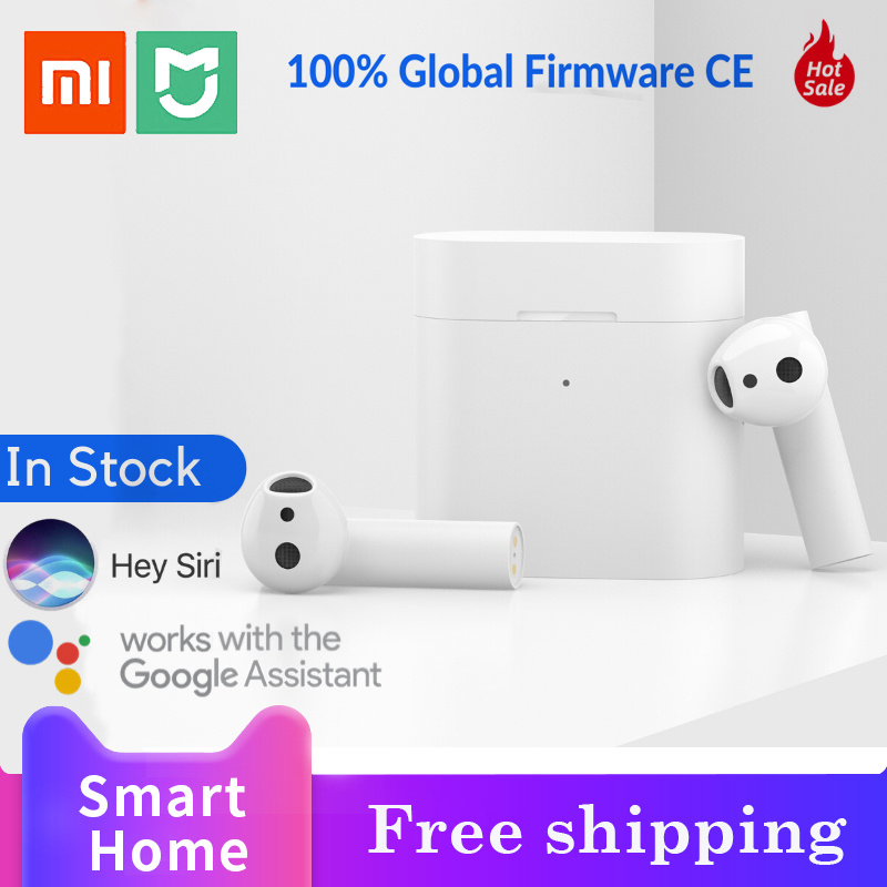 NEW Global Version XIAOMI Airdots Pro 2 <font><b>Mi</b></font> True Wireless Earphones 2 <font><b>TWS</b></font> Bluetooth 5.0 14H Battery Voice Assistant ENC LHDC【CE image