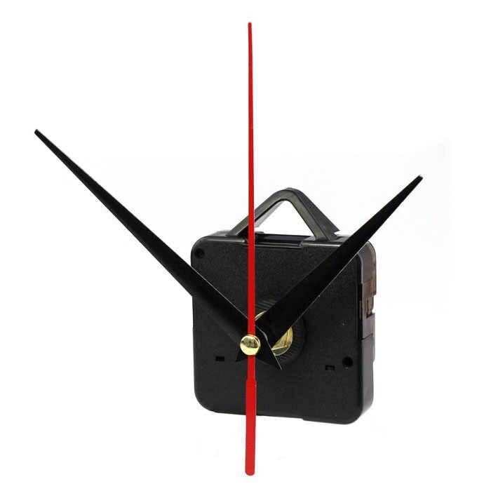 1 компл. Бесшумные большие часы настенные кварцевые механизм движения черный и