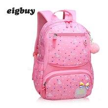 цены на Girls Cute Backpacks For Children School Bags Ultralight Backpack Waterproof Book Bag Travel Rucksacks Mochila Escolar  в интернет-магазинах