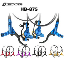 ZOOM HB-875 MTB Disc Brake Bike Left Front Right Rear Mountain Bicycle Hydraulic Disc Brake Set Better Than M395 M447