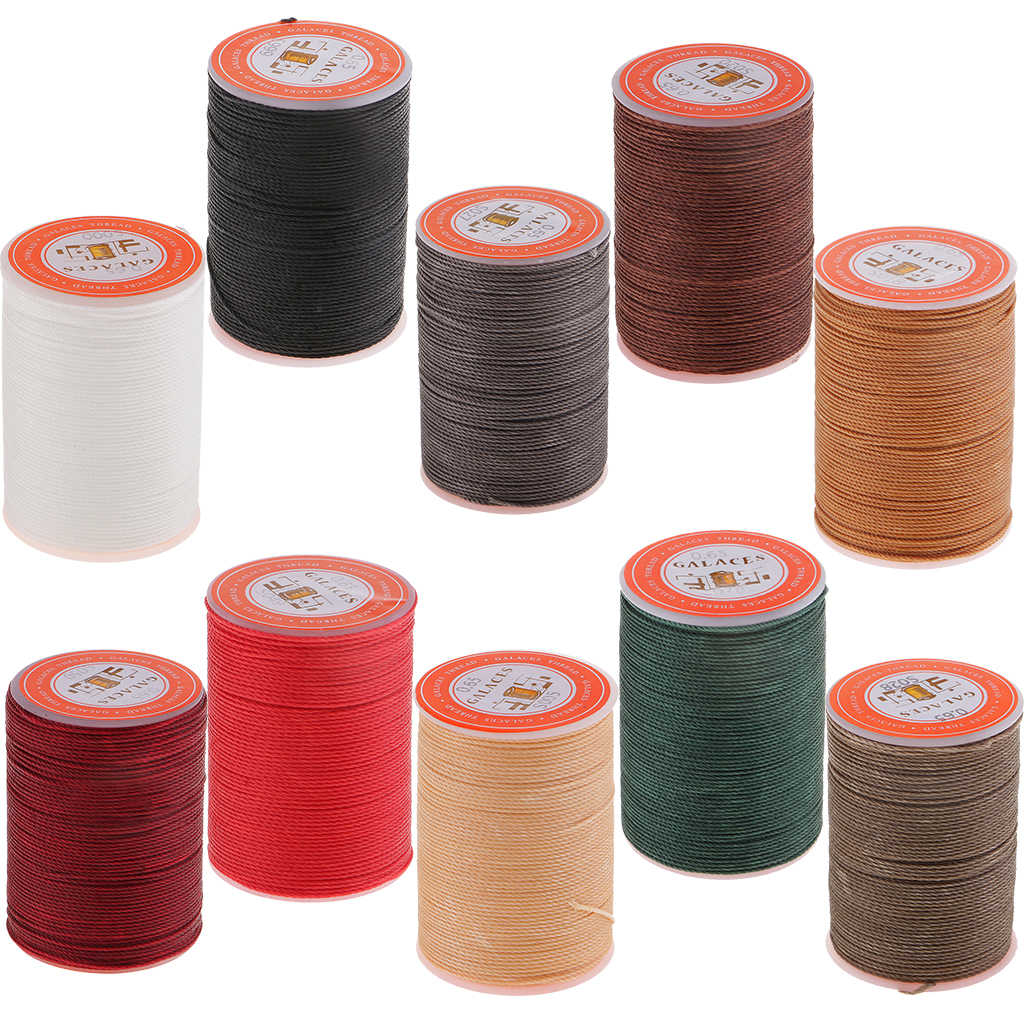 1 Roll 93Yards 0.65 Mm Waxed Thread Repair Cord String Naaien Lederen Hand Wax Stiksels Diy Draad Voor Sieraden maken Craft Tool