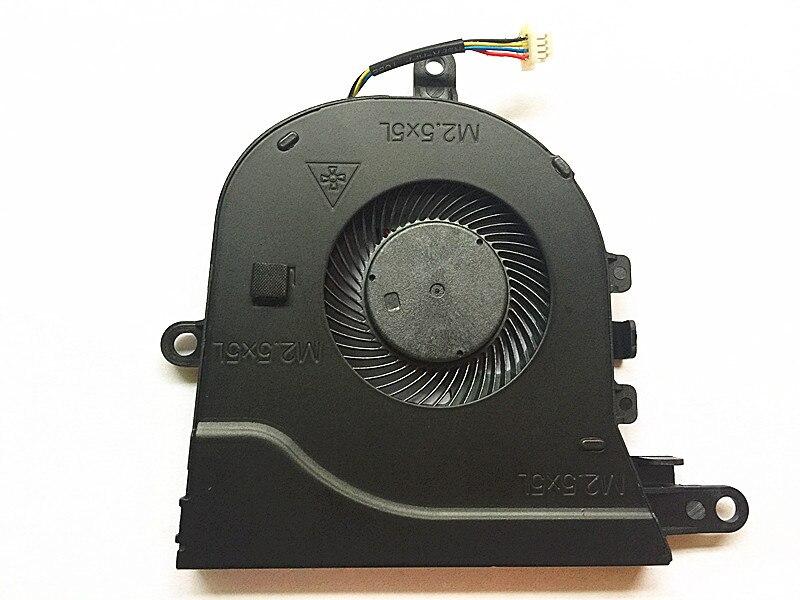 Ventilador de refrigeração original novo p75f CN-0FX0M0 da cpu do portátil para dell latitude 3590 e3590 para inspiron 15-5570 15-5575 ventilador de refrigeração da cpu