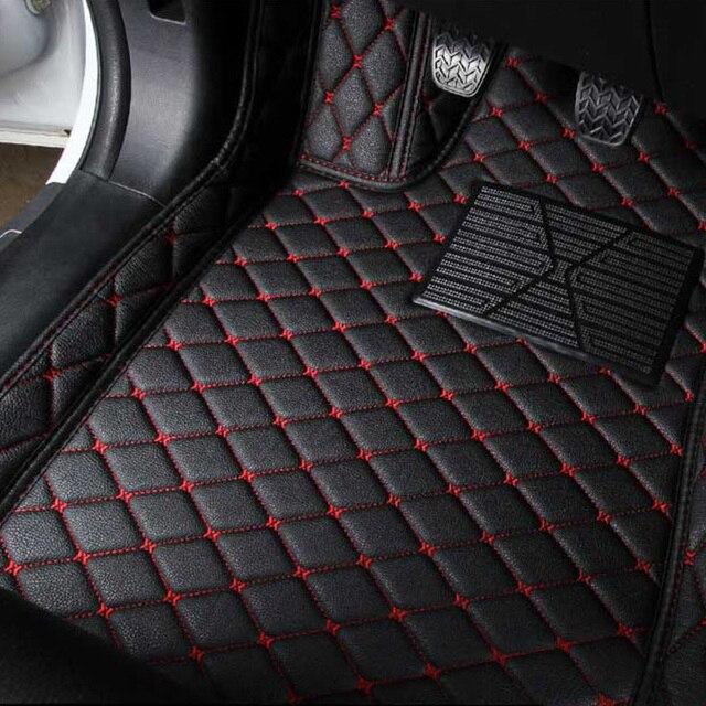 Auto Fußmatten Teppiche Für Mazda 6 GJ GL 2018 2017 2016 2015 2014 2013 2012 Auto Dekoration Abdeckungen Zubehör wasserdichte Teppiche
