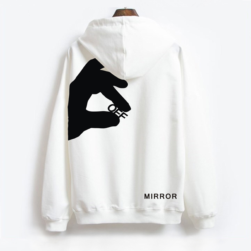 2020 New Arrival Full Casual Loose Cotton None Yes Hot Leisure Hoodies Hip Hop Off Logo Printing Hooded Couples Men And Women