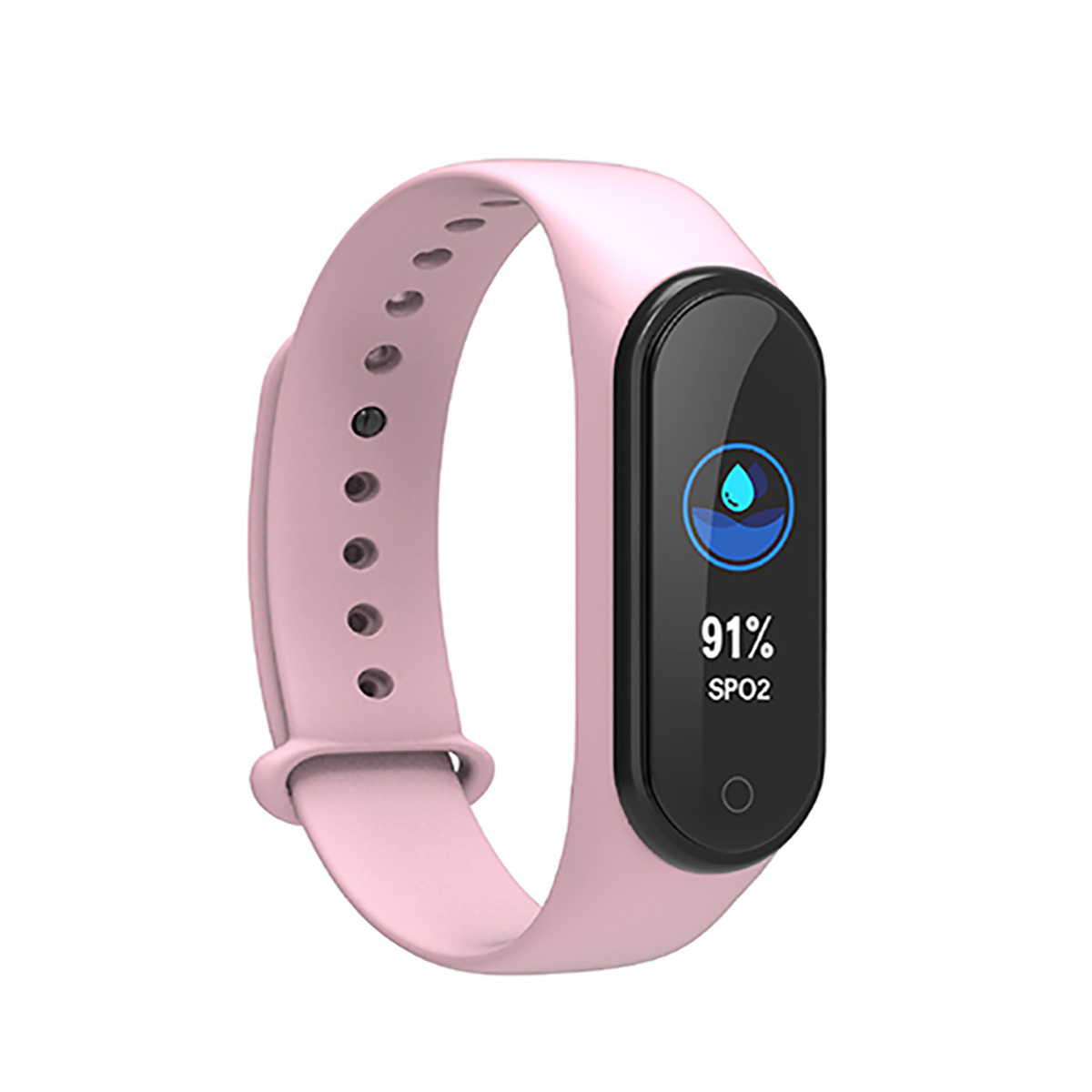 Hc981298ff94b4ee5ab0507b7c847fb26y New M4 Smart Band Fitness Tracker Smart Watch Sport Smart Bracelet Heart Rate Blood Pressure Smartband Monitor Health Wristband