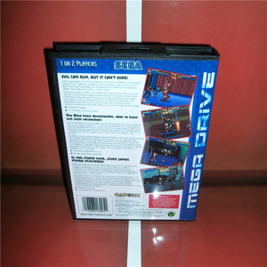 Image 2 - The Punisher EU Cover with Box and Manual For Sega Megadrive Genesis Video Game Console 16 bit MD card