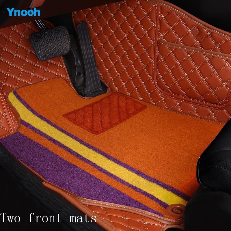 Tapis de voiture Ynooh pour hyundai getz accent 2008 santa fe tucson elantra creta veloster grand i10 ioniq i10 deux accessoires de voiture