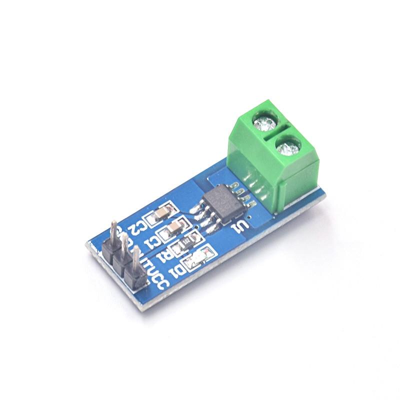 Free Shipping 20Pcs/lot Hot Sale ACS712 30A Range Hall Current Sensor Module ACS712 Module For Arduino 30A