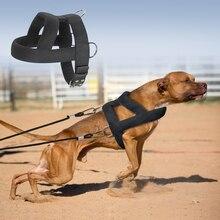 Собака Вес проводки мягкий сбруя для собак защитный чехол для телефона больших собак тренировочные ремни для домашних животных ловкость пр...