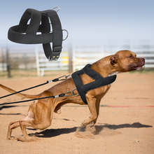 Dog Weight Pulling Harness Soft Padded Dogs Harnesses Pitbull Big Large Dogs Training Harness Pet Agility Products