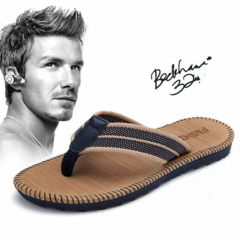 Summer Couples Men And Women Fashion Trend Flip Flops Home Slippers Non-Slip Beach Sewing Cool Student Clip Outside Slides