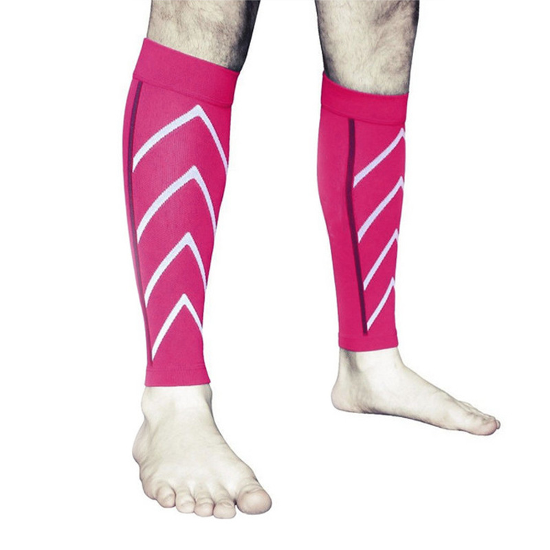 1 Pair Calf Support Graduated Compression Leg Sleeve Socks Outdoor Exercise Sports Safety SER88