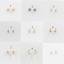 585Carved hollowed-out earrings in rose gold for glamorous women's wedding parties, stylish and stylish earrings