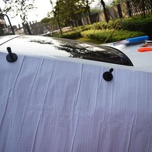 Image 3 - Autocollants en Film vinylique pour voiture, outil de fixation et demballage à forte aspiration efficace support magnétique, outil dapplication magnétique 4A12 4 pièces