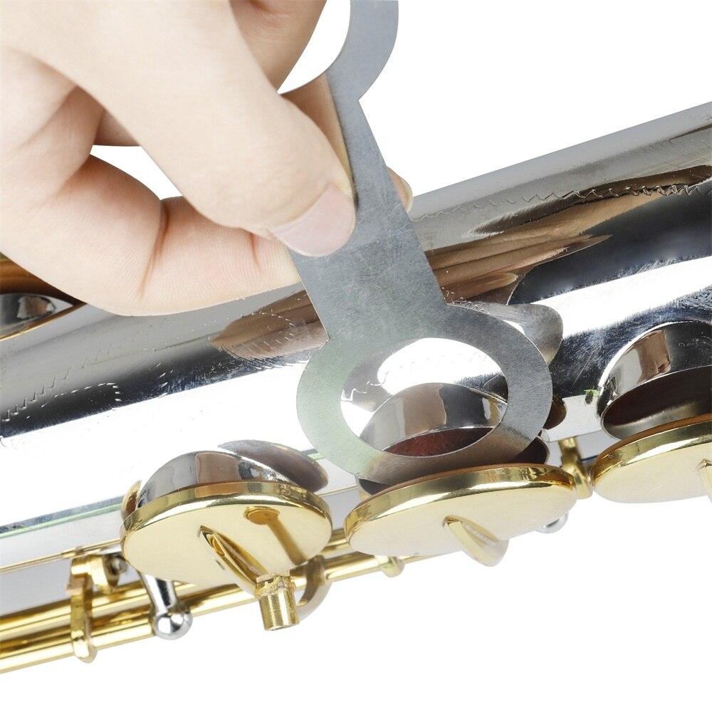 8 Pcs Woodwind Saxophone Repair Tool For ALto/Soprano/Tenor Saxophone, Musical Instrument Replace Flat Pressure Pad Tool
