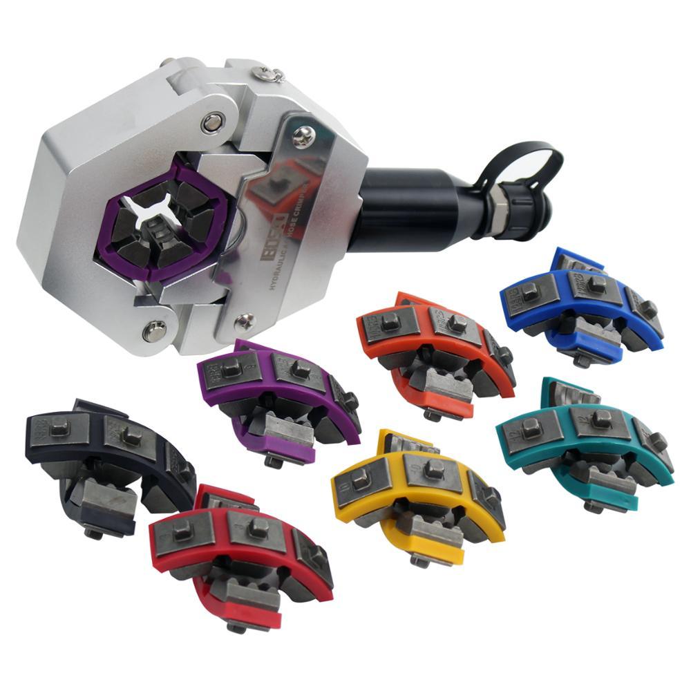 Гидравлический шланг обжимной инструмент для шланга кондиционера авто A/C Шланг Гидравлический обжимной инструмент Бесплатная доставка