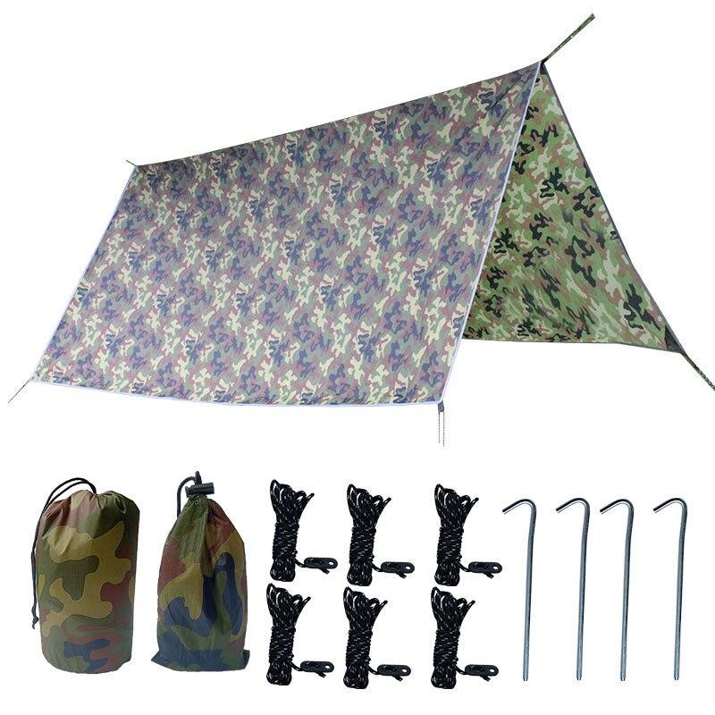 300 300 centimetros esteira de acampamento ultraleve ao ar livre dossel tenda camouflage dormir mat cobertor