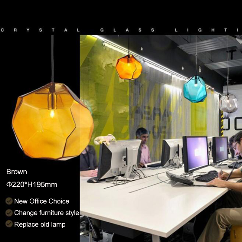2020 hot selling hand-made glass Hanging lamp Pendant Lights Art  Italy Fashion G9