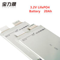 NEW Original 20Ah 3.2V lifepo4 li polymer rechargeable battery cell for electrice bike motor battery pack diy EU US TAX FREE