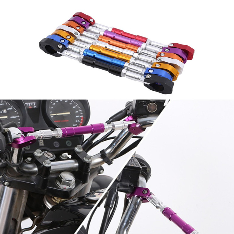 Motorcycle Universal 22 MM Handlebar Motorbike Grips Handle Bar Steering Wheel Strengthen Cross Bar Dirt Pit Bike