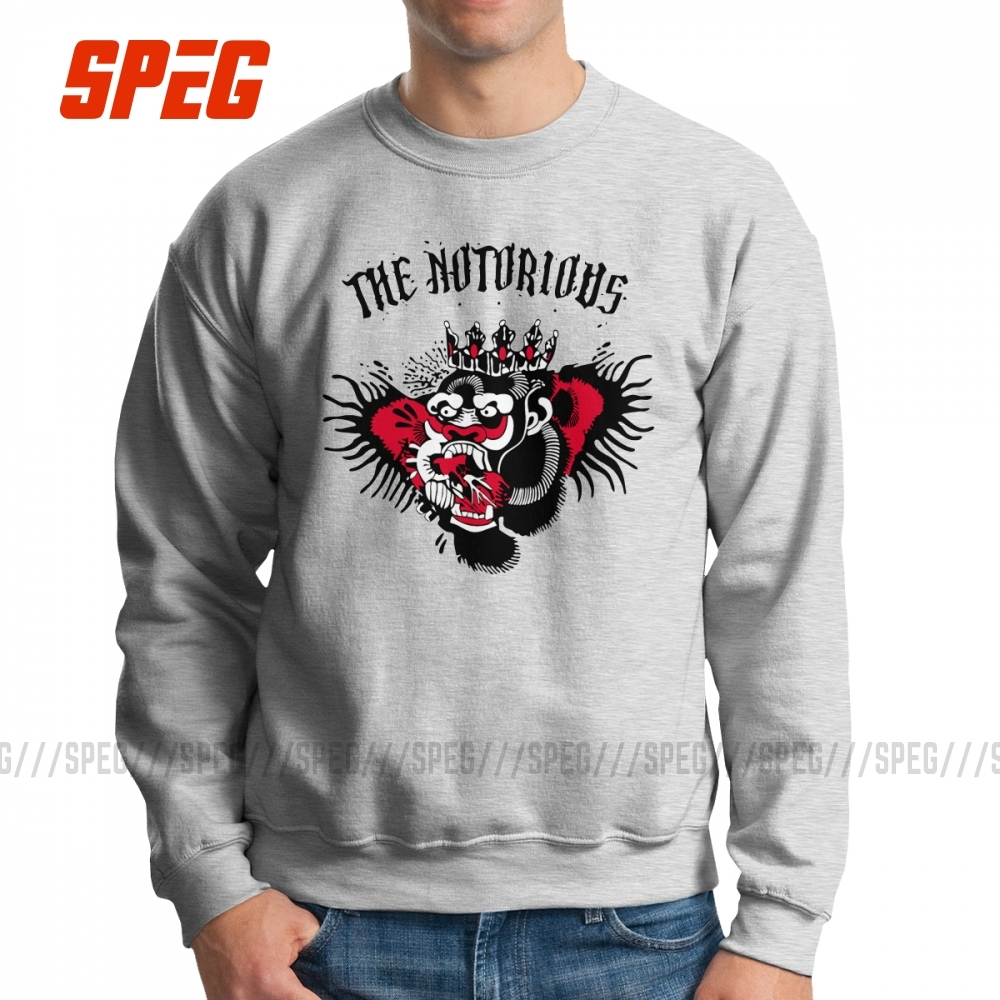 Man The Notorious Conor McGregor Sweatshirts Vintage Pullovers Pure Cotton Hoodie Graphic Clothing