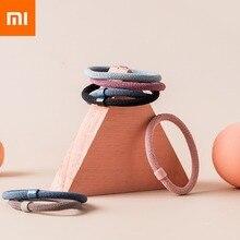 12 шт./компл. Xiaomi Jordan & Judy Girls нейлоновые эластичные резинки для волос карамельных цветов Детская резинка для волос модная резинка для волос Ac