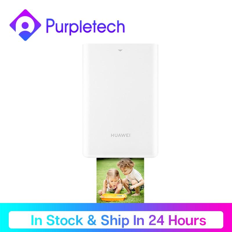 Original Huawei Mini Photo Printer Portable Pocket AR Printers 313*490dpi Bluetooth Support Share 500mAh Phone Printing Paper