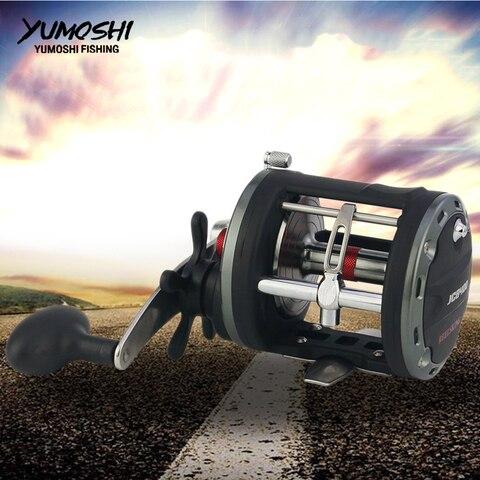 12 1 bb alta velocidade elenco tambor roda carretel de pesca isca enfrentar barco corrico
