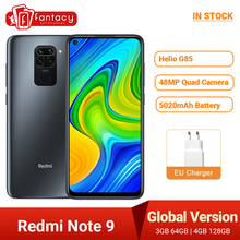 Xiaomi Redmi Note-9 Smartphone NFC 128GB 4gbb GSM/LTE/WCDMA/.. Adaptive Fast Charge Octa Core