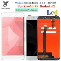Recambio de pantalla LCD para Xiaomi Redmi 4X, montaje de digitalizador