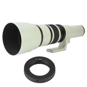 Image 2 - Profesjonalne 500mm F6.3 teleobiektyw obiektyw stały ręczne ustawianie ostrości optycznego wielokrotnego powlekania kamera obiektyw do Nikon Canon DSLR lustrzanki