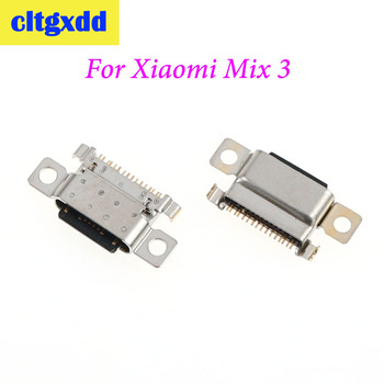 cltgxdd 1PC USB Jack Socket Charging Port Dock Replacement For Xiaomi Mix 3 tablet pad mipad 3 / 4/ 4 plusCharger Connector Port image